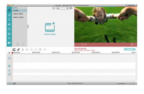 Windows Movie Maker for Mac Screenshot